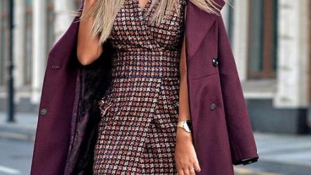 Mодные женские плащи осень-весна 2021 года
