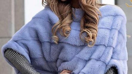 С чем носить меховой свитер