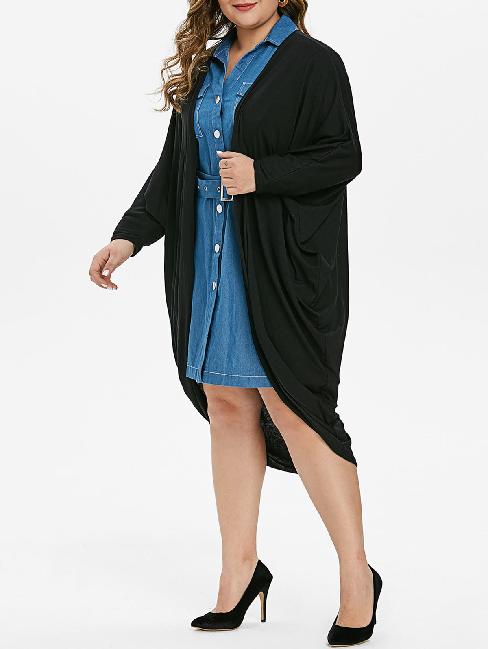 Мода для полных женщин осень 2020