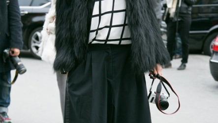 Какие брюки носить с шубой: выбираем фасон